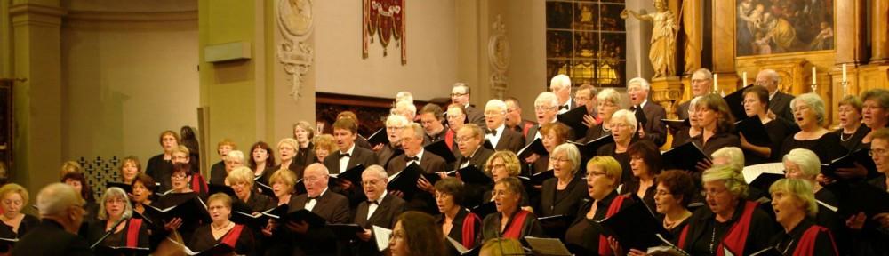 Begeisterndes Konzert des Kammerchors gemeinsam mit Trivium Cantans in  Brassschaat