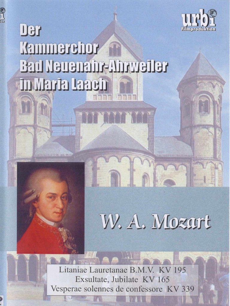 Mozart Marial Laach LauretaninischeDVD