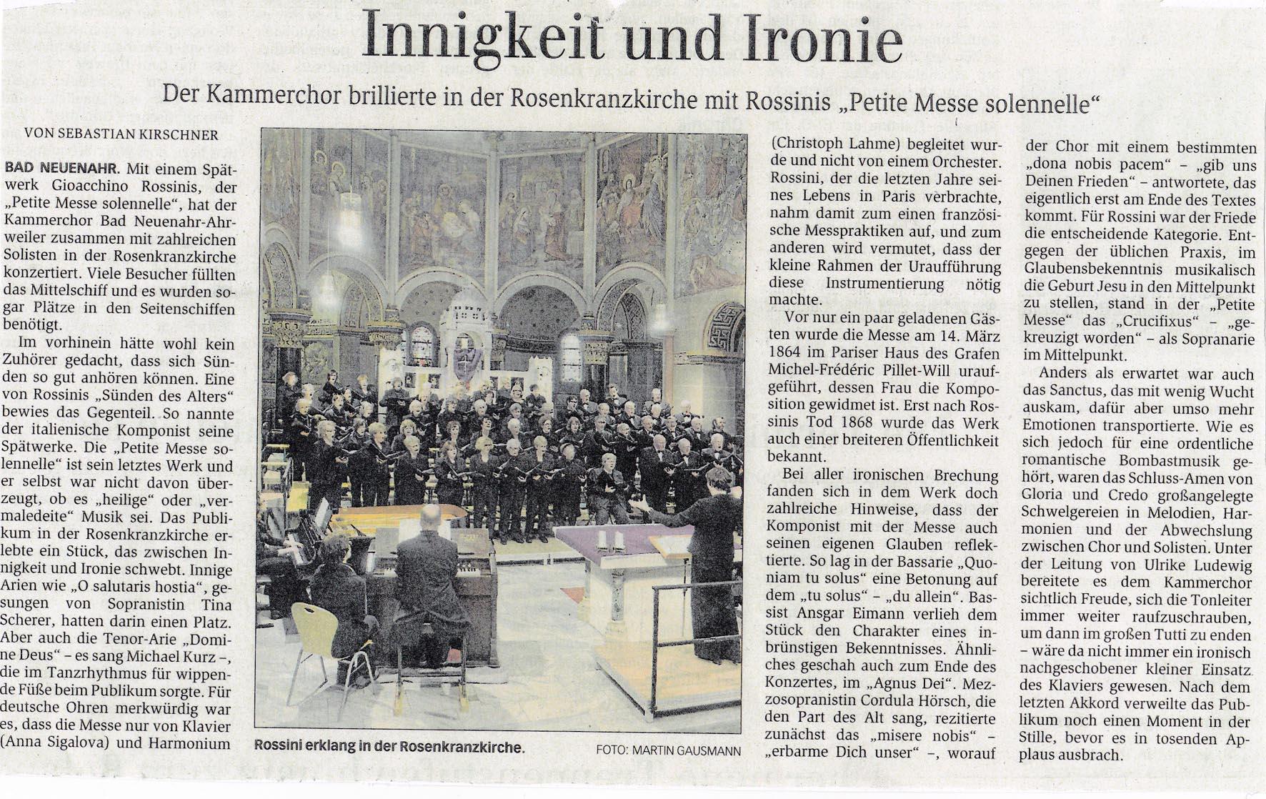Rossini Konzert - General-Anzeiger