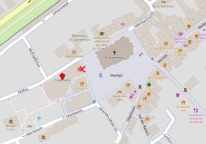 bürgerzentrum karte
