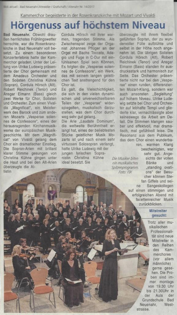 Blick aktuell 14/2017