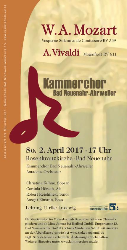 Flyer-Konzert